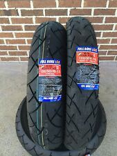 Full Bore USA 100/90-19 & 150/90-15 2 Tire Set Kawasaki VN750 / VN1500 Vulcan