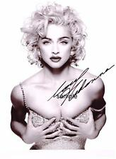 MADONNA REPRINT 8X10 AUTOGRAPHED SIGNED PHOTO PICTURE COLLECTIBLE SINGER RP