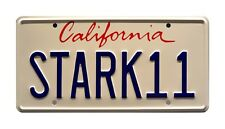 Iron Man 2 | Tony Stark's 2010 Audi R8 | STARK 11 | STAMPED Prop License Plate