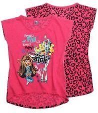 T-shirts, hauts et chemises roses col rond pour fille de 13 à 14 ans