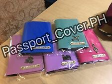 Personalized Passport Cover (PU Leather Material)
