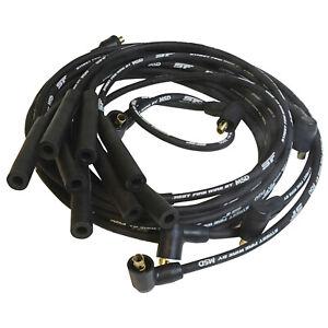 MSD Ignition 5531 Spark Plug Wire Set 8mm Black Street Fire RFI Surpress