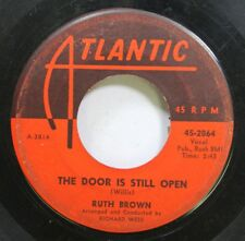 Soul 45 Ruth Brown - The Door Is Still Open / What I Would Give On Atlantic