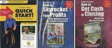 Carleton Sheets 3 DVDs QUICK START Skyrocket Profits & Get Cash at Closing