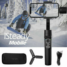 Hohem iSteady Mobile+ 3a xis Handheld Gimbal Stabilizer for iPhone Samsung Black