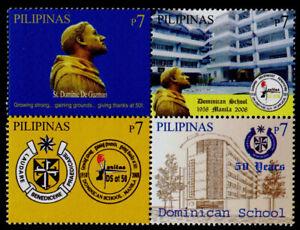 Philippines 3147 MNH Dominican School, Manila, Architecture, Crest