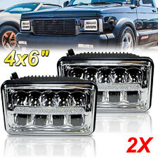 4 X6 Led Drl Headlight For Chevrolet S10 Monte Carlo Nova R10 Monza 2x Fits 1996
