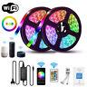 5M 10M 20M RGB LED Strip Light Kit Smart WiFi Phone Controller Alexa Google Home