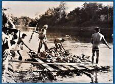 vintage photo Laos nude native army soldiers guerre Indochine war Vietnam 1952