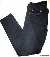 HUDSON Skinny JEANS Womens 28 Dark Indigo Faded Wash SLIM Leg Designer Denim