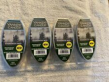 Yankee Candle Fragranced Wax Melts Evergreen Mist 4 Packs