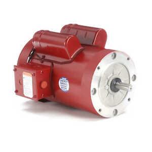 Leeson Electric Motor 110495.00 1.5 HP 1725 Rpm 1-PH 115/208-230 V 56C Frame