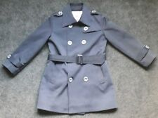 Burberry London Double Breast Trench Coat Age 5-6 With Belt