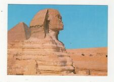 Giza Great Sphinx & Keops Pyramid Egypt Postcard 606a