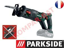 Parkside Scie sabre sans fil Batterie 20v, X20V TEAM SANS BATTERIE NI CHARGEUR