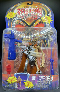 SKELETON WARRIORS DR CYBORN ACTION FIGURE PLAYMATES 1994 NEW SEALED IN PACKAGE