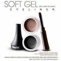 Makeup Eye Liner Cream Eyeliner Waterproof Eye Shadow Gel Brush Cosmetics Tool