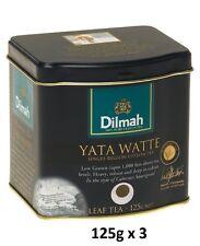 Dilmah Tea, YATA Watte Tea, Loose Leaf 125g -  4.41 Ounce Tins, (Pack of 3)