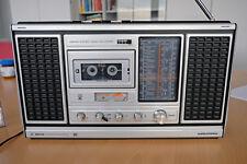 Grundig Stéréo Enregistreur Radio Ghettoblaster c8800 environ 1982 pleine Fonction