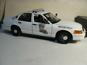 Louisiana Military Police Patrol Vehicle  Custom, weathered  big  1:18