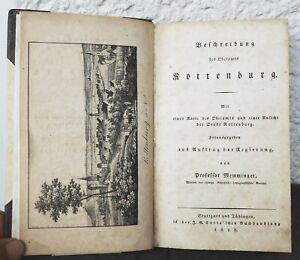 Professor Memminger – Beschreibung des Oberamts ROTTENBURG  1828