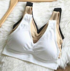 3 IN 1 Genie Bra with removable pads Women TV Bras Seamless Big Size:M,L,XL,XXL