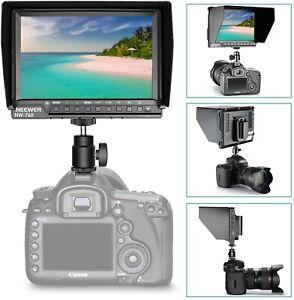 Moniteur de Champ Neewer NW-760(C) 7 Pouces écran IPS 1080P HDMI Full HD NEUF !!