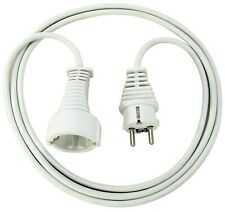 Brennenstuhl, quality plastic extension cable with a safety plug
