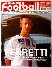 FRANCE FOOTBALL 21/06/2005; Pedretti/ Ricardo/ Argentine-Allemagne/ Mondial