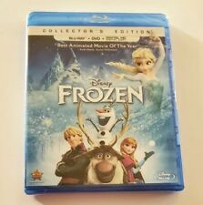 Frozen Blu-ray Disc/DVD/Digital 2014, 2-Disc Set, Collector's Edition New Sealed