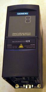 Siemens MICROMASTER 420 /  6SE6420-2UD13-7AA1