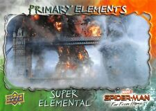 Spider-Man Far From Home PRIMARY ELEMENTS Insert Card E-2 / SUPER ELEMENTAL