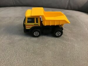 Small Vintage 1989 Buddy L Corp Yellow Plastic Toy Dump Truck Vehicle