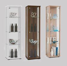 Bora1 Floor Standing Glass & Wood Display Trophy Cabinet