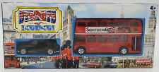 TRANSPORTATION : STREETS OF LONDON TAXI & BUS DIE CAST SET MADE BY REALTOY(DRMP)