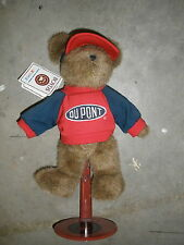 "BOYD'S Bears 11"" NASCAR Racing Jeff Gordon # 24 DUPONT Plush Stuffed w/ Tags & s"
