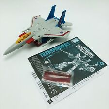 Transformers Earthrise Starscream 100% Complete Voyager Class