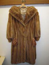 vintage mink coat Conrad's Fine Furs tawny brown, Saks Fifth ave. gloves Shawl