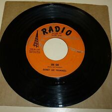 ROCKABILLY 45 RPM RECORD - BOBBY LEE TRAMMELL - RADIO 102