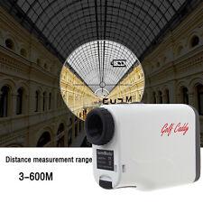 600m Range Finder Laser 6X Telescope Golf Hunting Measurer Monocular Rangefinder