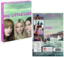 BIG LITTLE LIES (2017) HBO TV Dark Comedy MiniSeries Season  NEW Rg2 DVD not US