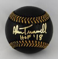 Alan Trammell Autographed Rawlings OML Black Baseball w/ HOF- JSA W Auth