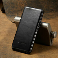 Luxury Vertical Flip Leather Skin Case Cover For Samsung Galaxy S21 S21+ Ultra