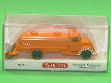 1:87 Wiking 064001 Kommunal - Sprengwagen (Magirus Sirius) Blitzversand per DHL