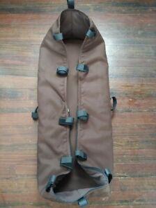 Bugaboo Cameleon I II Generation Baby Stroller Bassinet Carrycot Dark Brown