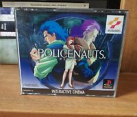 Policenauts PS1 COMPLETE MINT CONDITION RARE