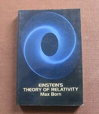 EINSTEIN'S THEORY OF RELATIVITY by Max Born -1st PB 1965 philosophy physics FINE