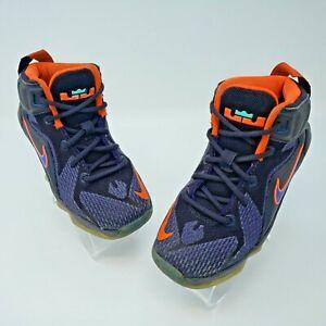 NIike Lebron XII Purple Hi Basketball Sneakers Shoes Size 11C 685184-500