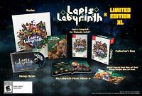 Lapis x Labyrinth Limited Edition XL Nintendo Switch Brand New