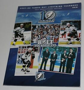11 Tampa Bay Lightning Yearbooks 2001-2012  04 Stanley Cup NHL